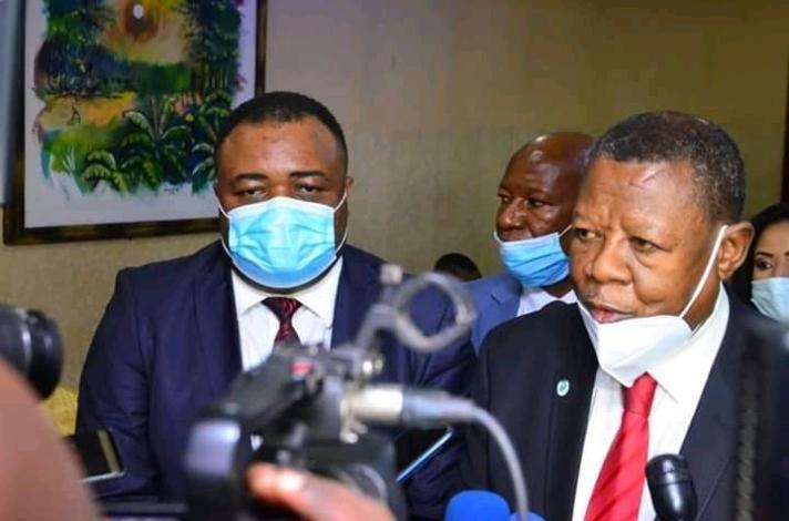 RDC- Haut-Katanga: Remise et reprise aux Lignes Maritimes Congolaises, Lambert Mende prend la commande