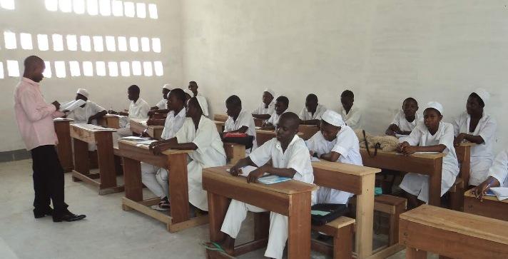 Kasaï oriental : Reprise effective  des cours dans les instituts techniques médicaux(ITM)