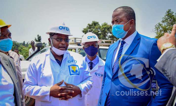 Kasaï oriental : Voirie urbaine, le conseiller David Mukeba promet des solutions de la  présidence