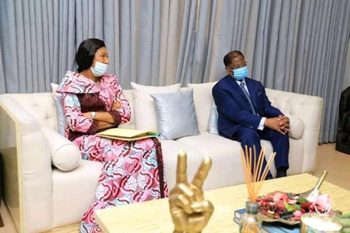 RDC : Le fonctionnement de la Cour Constitutionnelle au centre des échanges entre F. Tshisekedi et les deux présidents des parlements