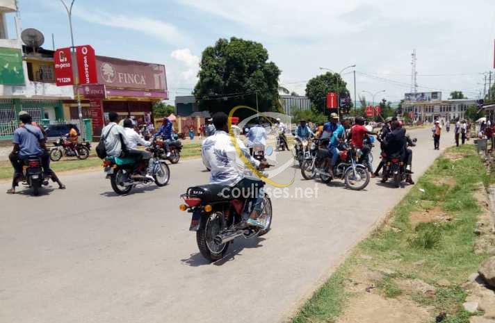 Kasaï oriental : Les taximotos en colère contre la taxe «péage en ville»
