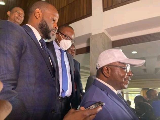 RDC- consultations présidentielles : Les membres des regroupements MS et AAD reçus par Félix Tshisekedi