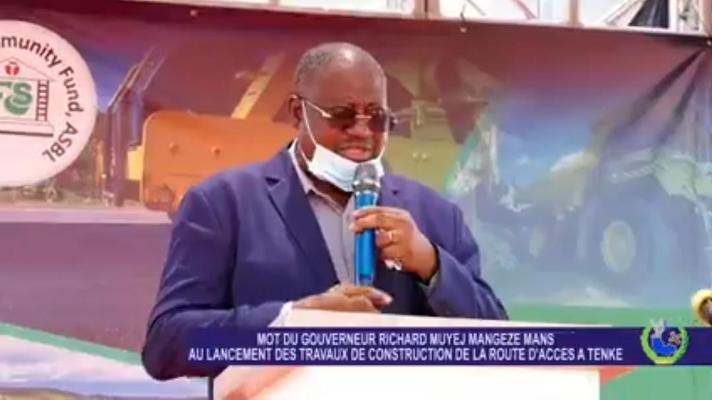 RDC-Lualaba : Richard Muyej lance les travaux de construction de la route d'accès à TENKE
