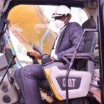 RDC- Haut-Katanga Katanga : Jacques Kyabula lance la réhabilitation de la route Kasapa à Lubumbashi