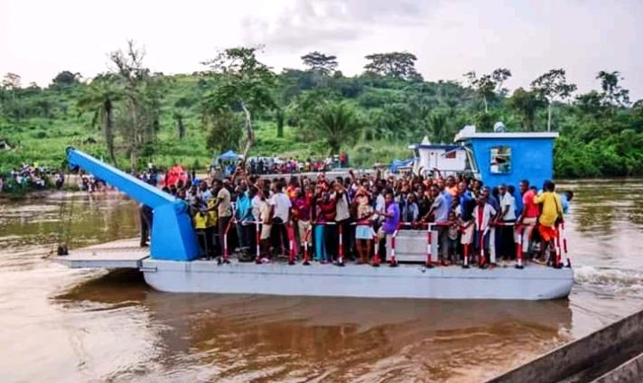 Kasaï oriental : Un bac lancé sur la traversée de Lubi pour réduire les naufrages