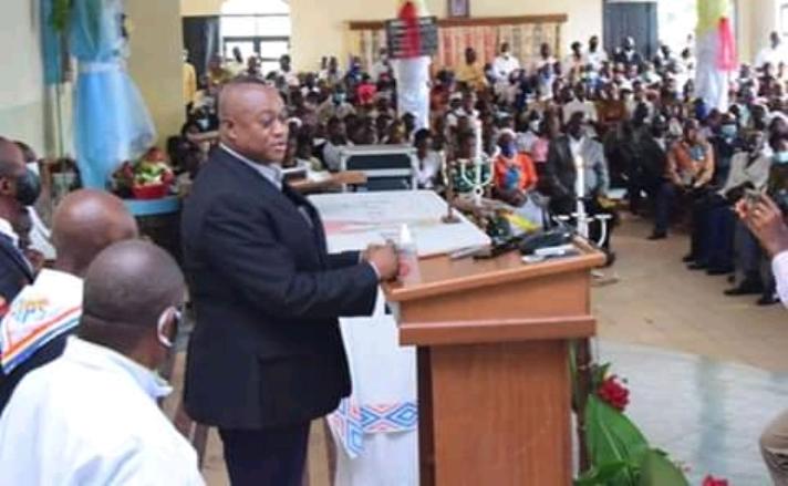 Kasaï oriental : Messe d'action de grâce à l'occasion de l'an 2 de F.Tshisekedi