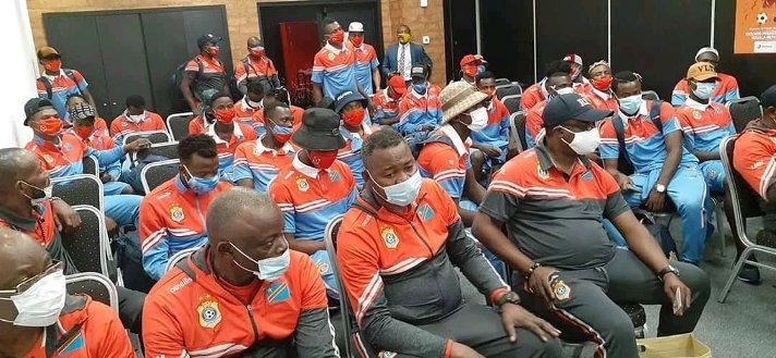 SPORTS CHAN-2021: les Léopards A de la RDC sont arrivés au Cameroun