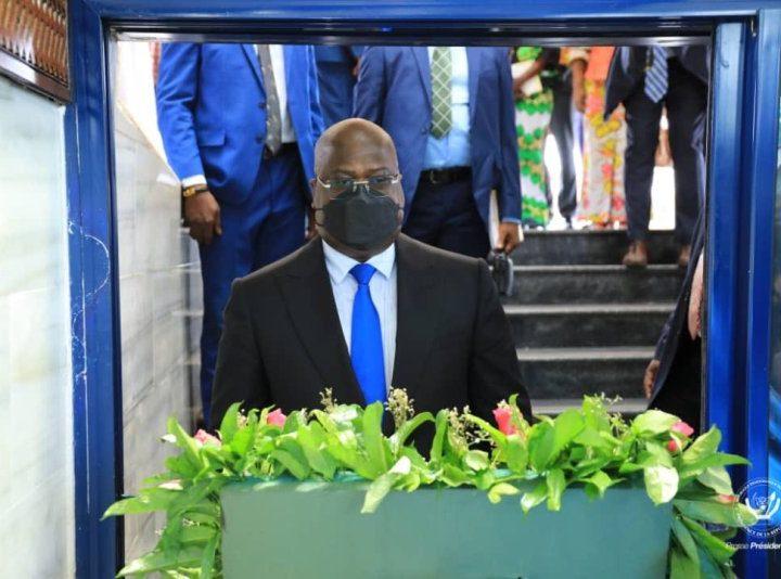 RDC: Le président Félix Tshisekedi s'est recueilli au Mausolée de Mzee L.D Kabila