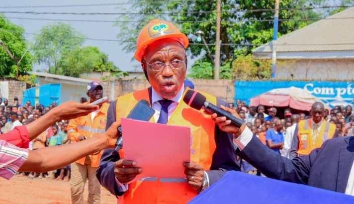 Kasaï oriental : le ministre  provincial des ITPR envisage des solutions urgentes après les pluies diluviennes à Mbujimayi
