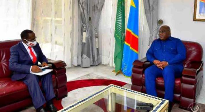 RDC: Modeste Bahati chez Félix Tshisekedi pour faire rapport mi-parcours