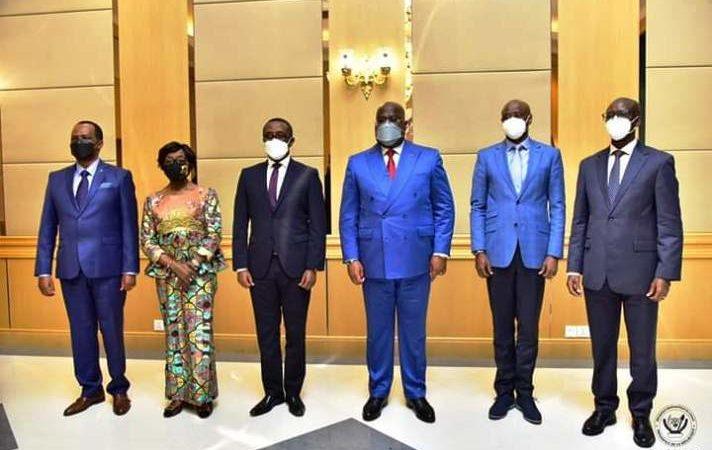 RDC : Une forte délégation du gouvernement rwandais reçue par Félix Tshisekedi
