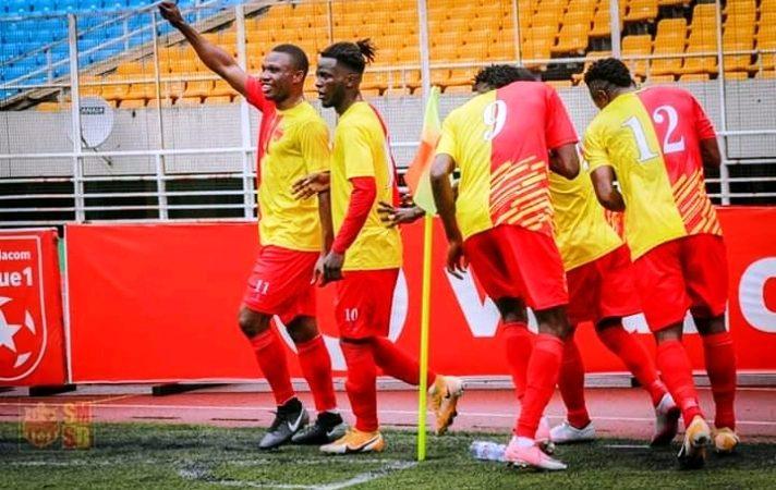 SPORTS-Linafoot D1: Sanga Balende s'impose à domicile face à Lupopo