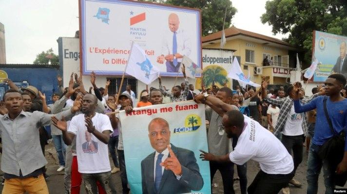 RDC-Kasaï-central : Les militants de Fayulu ont marché pour réclamer le départ du commandant PNC-Ville