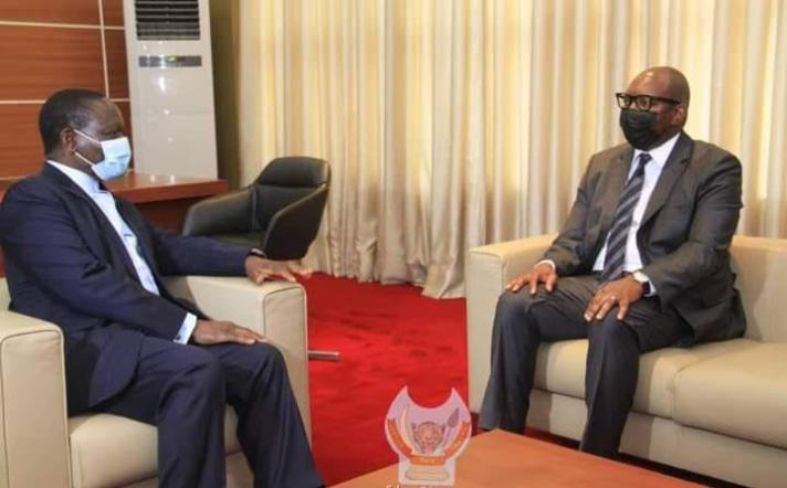 RDC: Sama Lukonde reçu par Sylvestre Ilunkamba