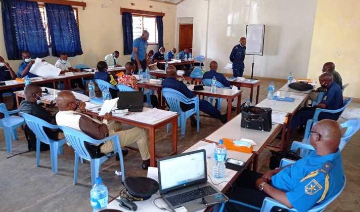 Kasaï oriental : L'OIM a clôturé la formation des formateurs des policiers ce samedi