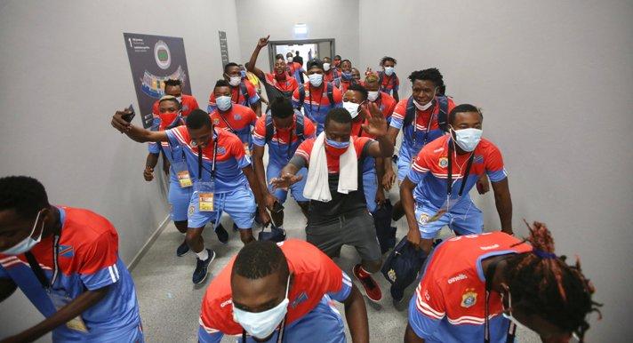 SPORT: Retour des Léopards A à Kinshasa