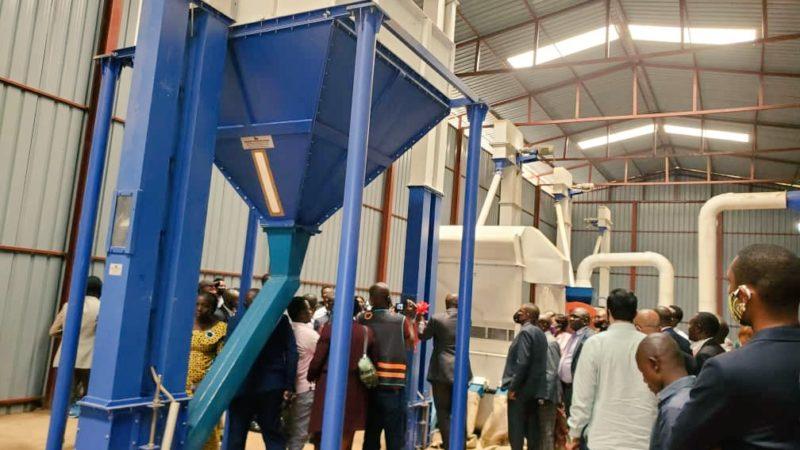 RDC-Sud-Kivu: Une usine de traitement de café inaugurée à Bukavu