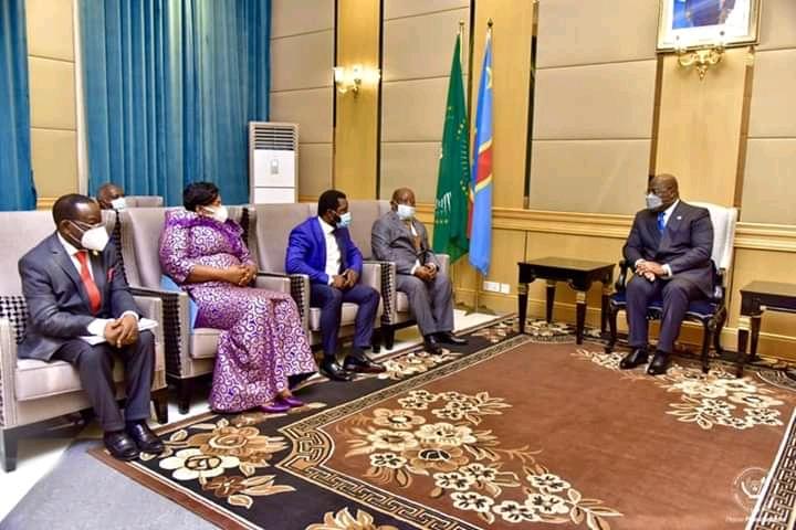 RDC : Le ticket union sacrée au sénat conduit par M. Bahati validé