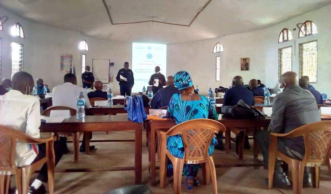 Kasai oriental : l'OIM ouvre une session de formation des formateurs des policiers