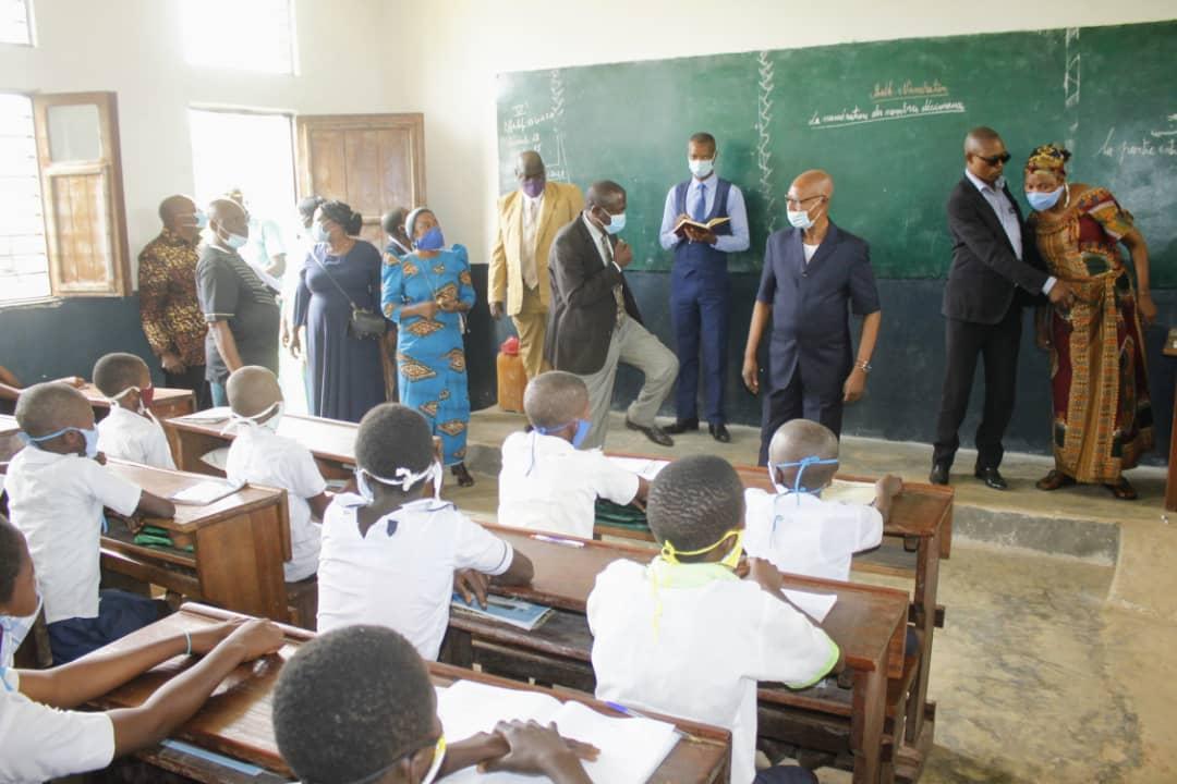 Kasaï central: Le Gouverneur a.i visite les écoles pour s'assurer de la reprise des cours
