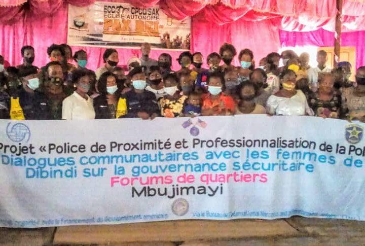 Kasai-oriental : Forums de quartiers organisés par l'OIM, les femmes souhaitent la fin de l'insécurité dans leurs entités