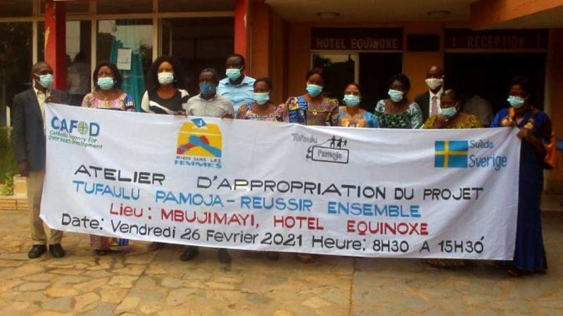 Kasaï oriental : Le mouvement rien sans les femmes s'approprie le projet TUFAULU PAMOJA