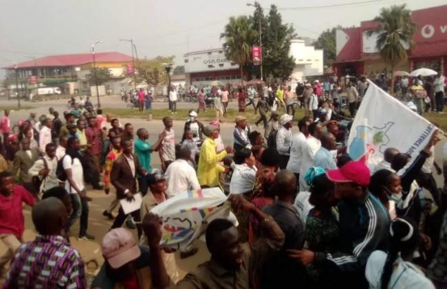 RDC- Kasaï central : L'élection du nouveau gouverneur réclamée par l'UDPS à travers une marche