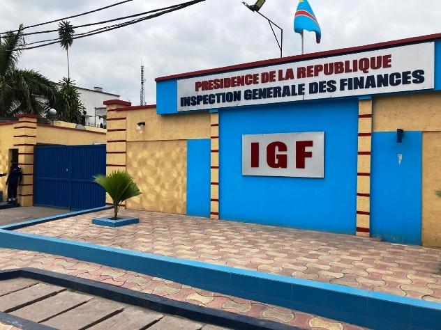 Kasaï oriental : L'IGF en mission de contrôle à Mbujimayi