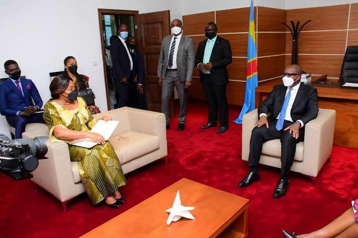 RDC: Denise Nyakeru  évoque  la participation des femmes dans le prochain gouvernement avec Sama Lukonde