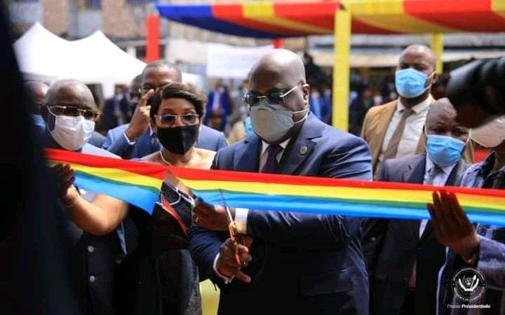 RDC: La Mutuelle financière des femmes inaugurée par Félix Tshisekedi