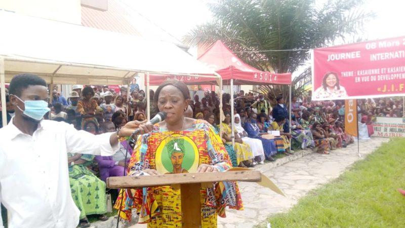 Kasaï oriental : JIF, Josiane Muleka dresse un tableau sombre du leadership féminin