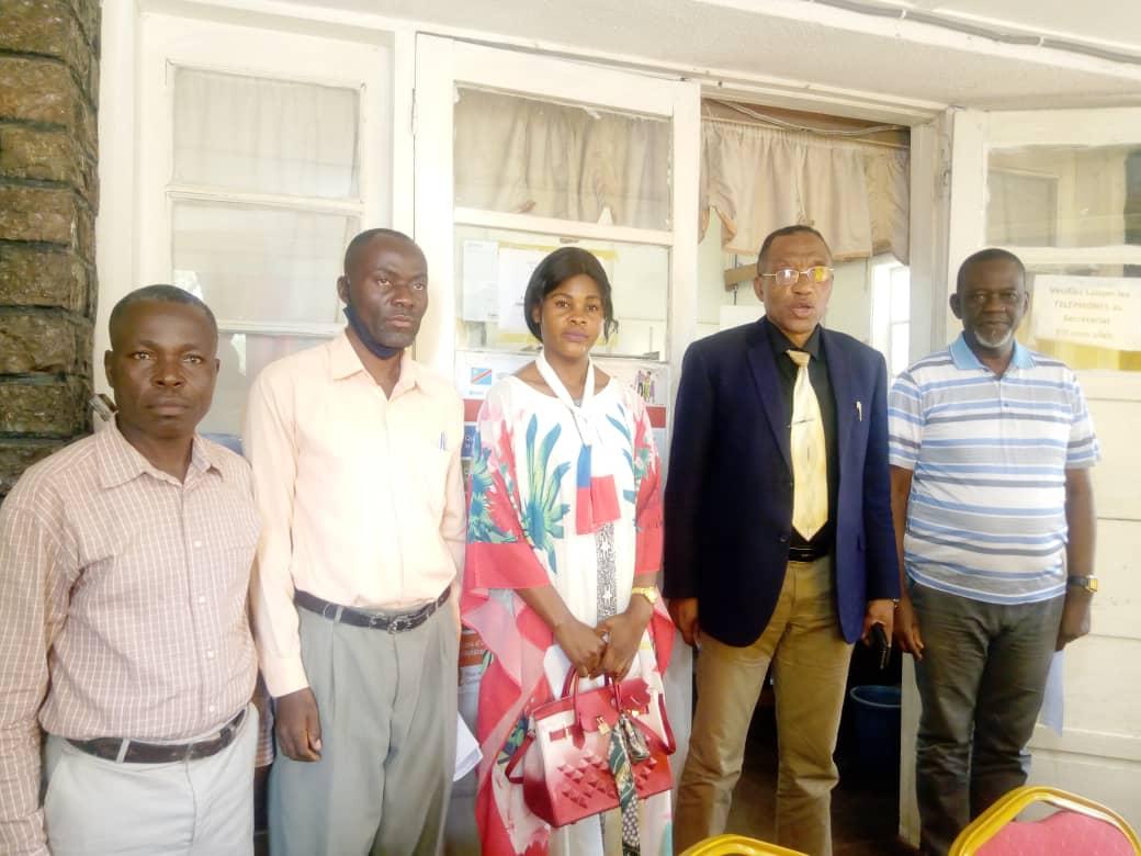 Kasaï-Oriental: Le ministre des ITPR et la NSCC s'entretiennent sur l'état des lieux des routes à Mbujimayi