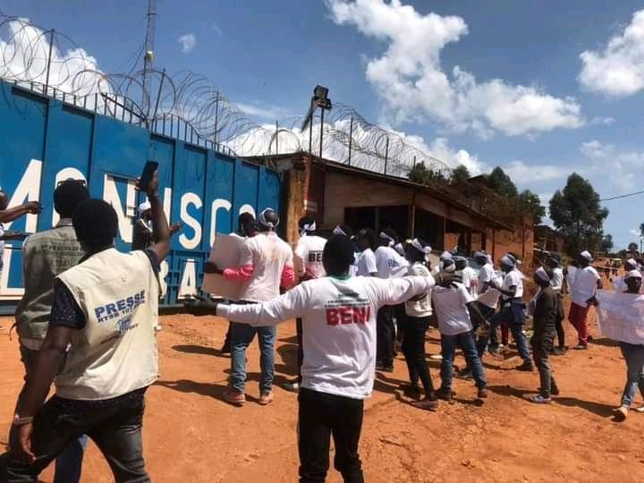 RDC/Nord-Kivu : A Butembo, les militants des mouvements citoyens exigent le départ de la Monusco