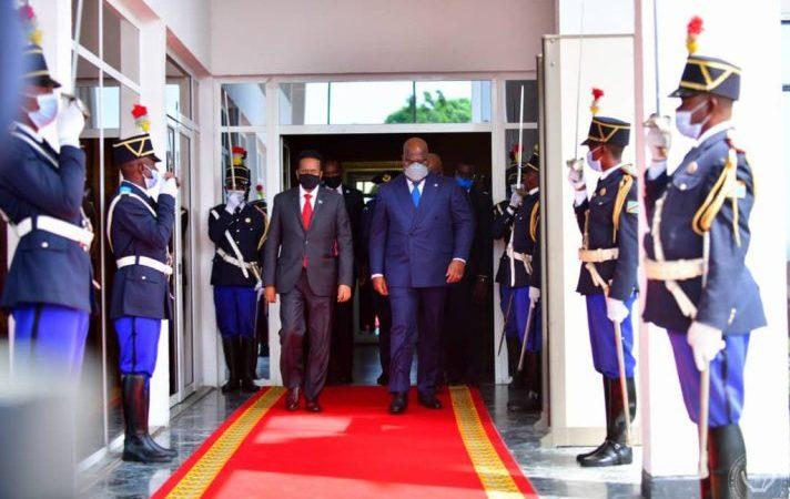 RDC : Félix Tshisekedi et le président Somalien ont échangé sur la situation politico-sécuritaire de la Somalie