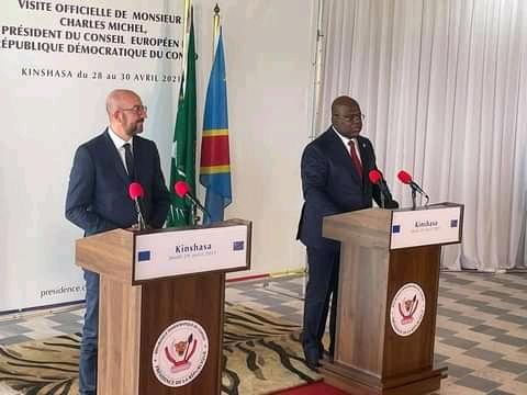 RDC: « l'UE est prête à s'engager avec d'autres partenaires dans le cadre du Conseil de sécurité», Charles Michel