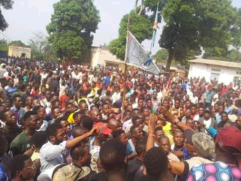 RDC-LOMAMI : l'UDPS a manifesté dans la rue pour exiger des actions concrètes du développement