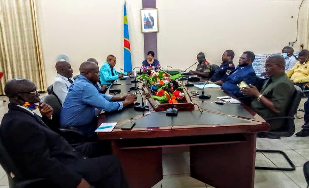 Kasaï oriental : Jeannette Longa préside son premier conseil de sécurité élargi