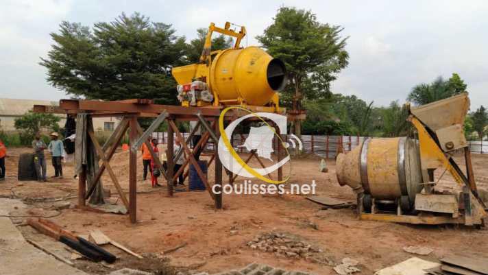 Kasaï oriental: Les mixeurs à béton prêts pour le projet TSHILEJELU