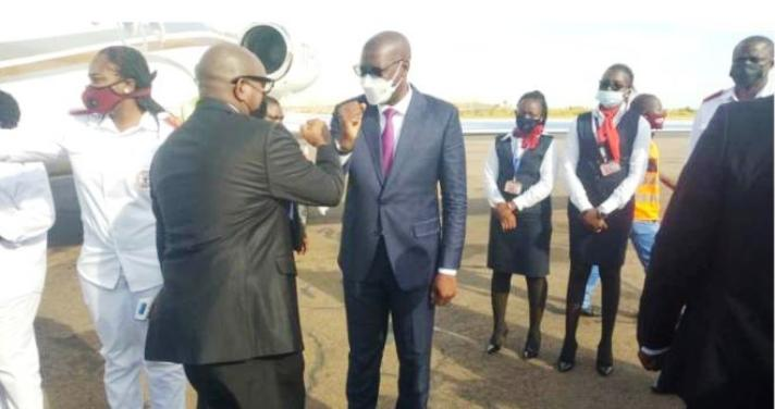 RDC- Haut-Katanga : Sama Lukonde est arrivé à Lubumbashi  pour accueillir Félix Tshisekedi