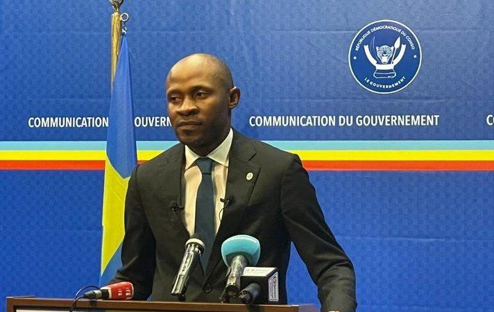 RDC: «la paix n'a pas de prix. Même s'il faut mettre la moitié du budget national pour obtenir la paix en RDC», Patrick Muyaya