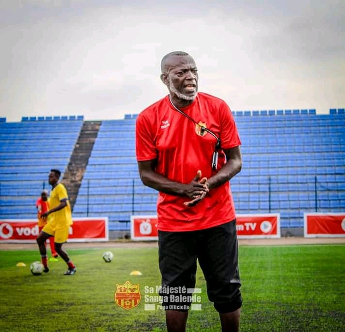 SPORTS : le coach Andy Magloire Futila limogé de Sa Majesté Sanga Balende