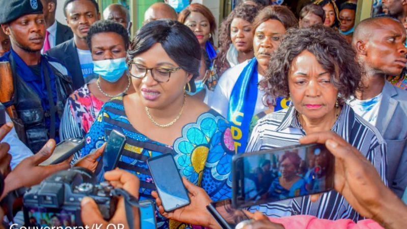 Kasaï oriental : La jeunesse et la famille, les priorités de Gisèle Ndaya