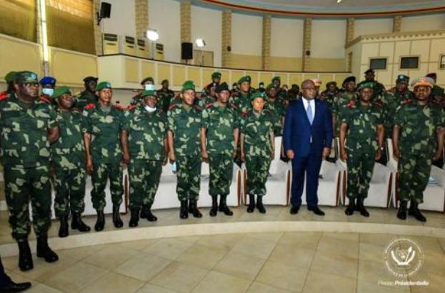 RDC: Félix Tshisekedi nomme les gouverneurs militaires du Nord-Kivu et d'Ituri ainsi que leurs vice-gouverneurs