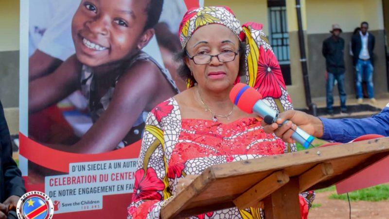 Kasaï oriental Jeannette Longa a inauguré le centre de santé Lac Lomba