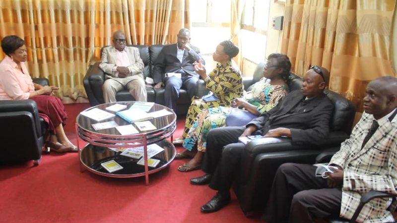 Kasaï oriental : Les bourgmestres des communes de la ville de Mbujimayi reçus par Jeannette Longa