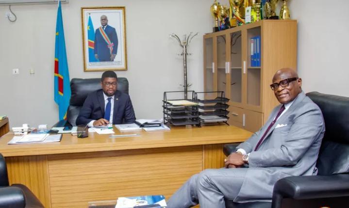 SPORTS:  Constant Omari dresse le tableau du football congolais au nouveau ministre des sports