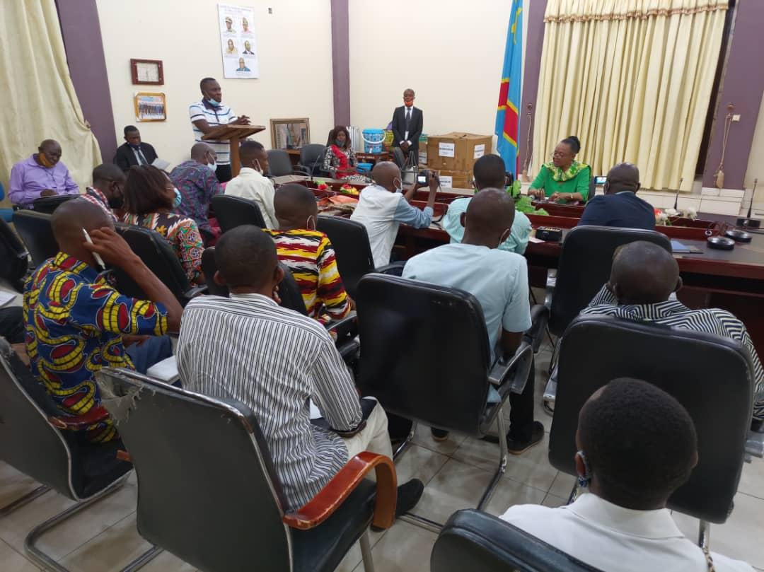 Kasaï oriental : Jeannette Longa annonce l'arrestation du chef de division des finances et du comptable pour détournement