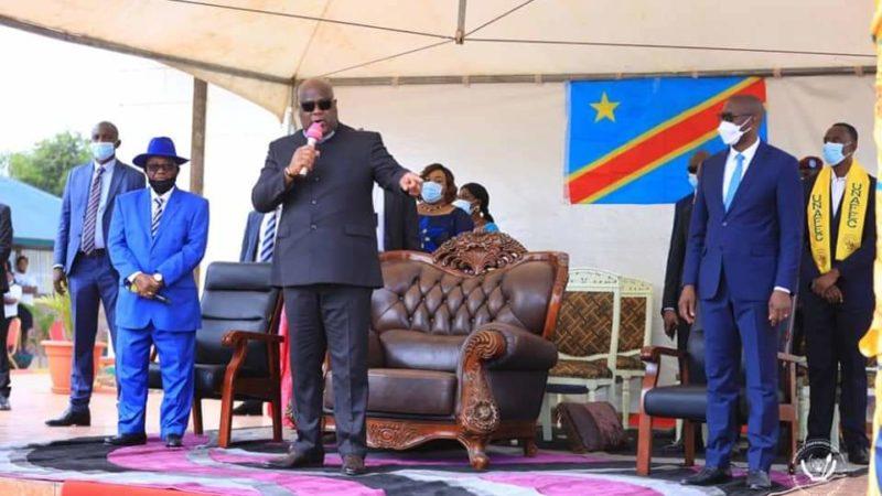 RDC: A Kolwezi, Félix Tshisekedi dénonce la campagne de diabolisation contre les gouverneurs nommés