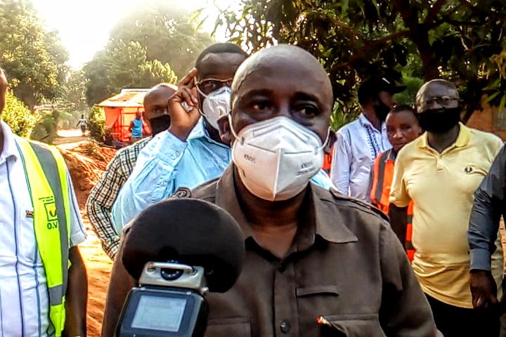 Kasaï oriental : Victor Tumba félicite la direction provinciale de l'OVD pour la qualité des travaux de lutte anti-erosive