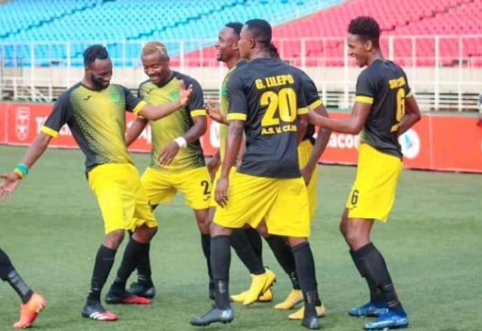 SPORTS-Linafoot :  V.Club bat Sanga Balende et se maintient en tête du classement